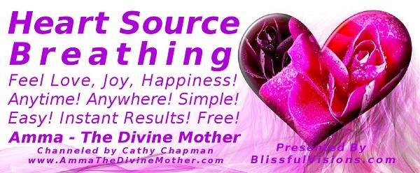 Heart Source Breathing: Revitalizes, Re-energizes, Renews