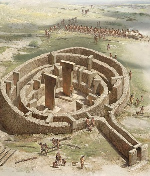 Gobekli Tepe, Turkey - 11,000 year old sanctuary at www.BlissfulVisions.com