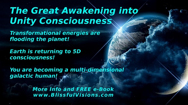 The Great Awakening into Unity Consciousness by Dennis Shipman