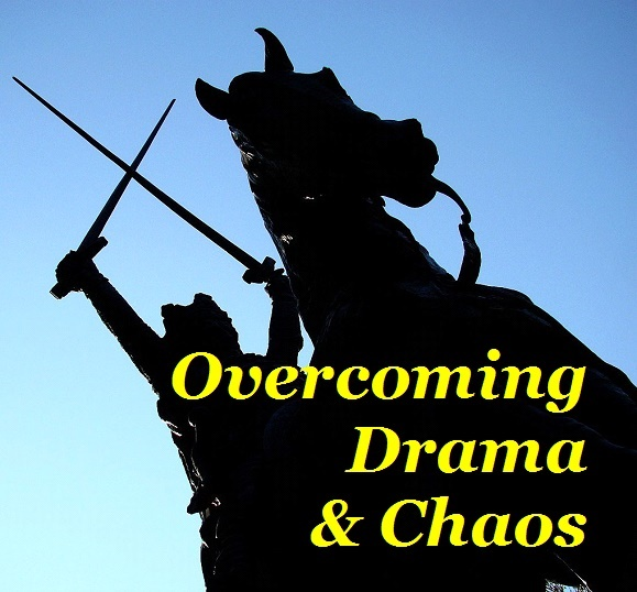 BlissfulVisions.com Overcoming Drama and Chaos by Dennis Shipman
