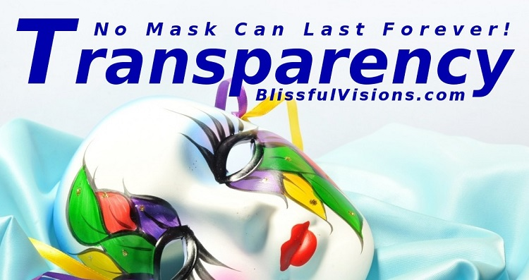 BlissfulVisions.com - No Mask Can Last Forever!