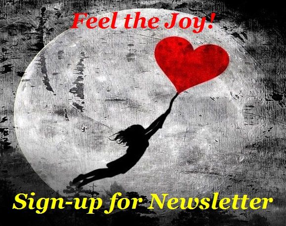 BlissfulVisions.com Feel the Joy! Sign-up for Newsletter