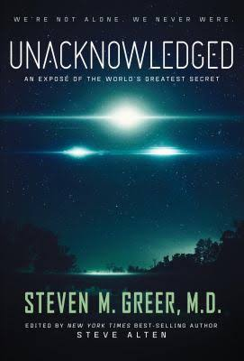 Unacknowledged documentary film and book by Dr. Steven Greer at BlissfulVisions.com